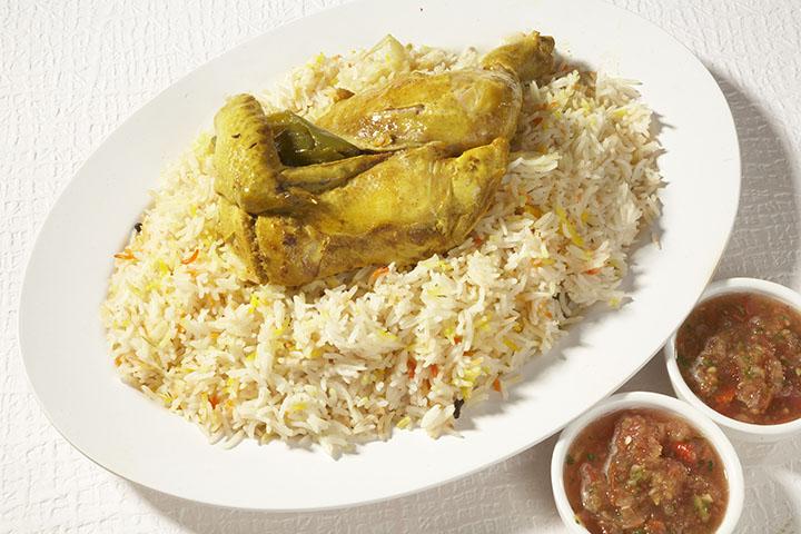 Saba Restaurant Delicious Rice Selection